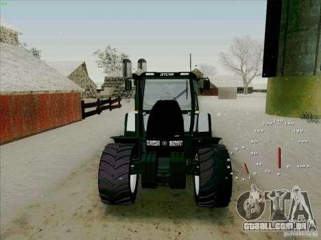 Steyr CVT 170 para GTA San Andreas vista traseira