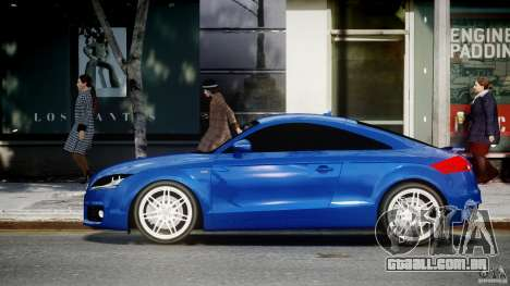Audi TT RS Coupe v1.0 para GTA 4 esquerda vista