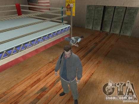 O sistema de luta de GTA IV para GTA San Andreas segunda tela