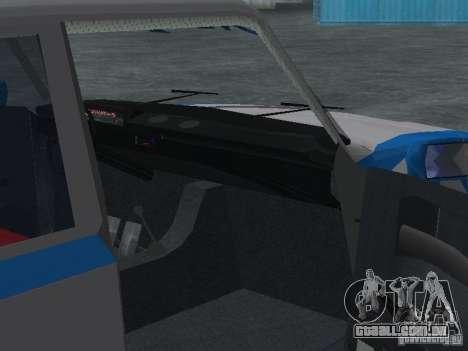 VAZ 2101 marinheiro para GTA San Andreas vista interior
