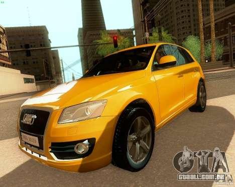 Audi Q5 para GTA San Andreas vista traseira