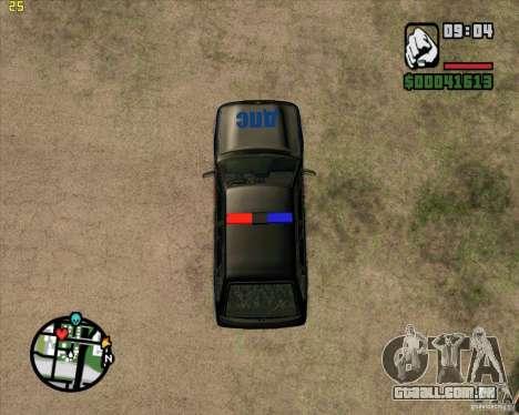 ВАЗ 2114 DPS tuning para GTA San Andreas vista traseira