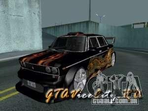 Melodia GTX VAZ 2106 para GTA San Andreas