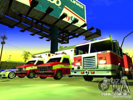 Ambulance 1987 San Andreas para GTA San Andreas