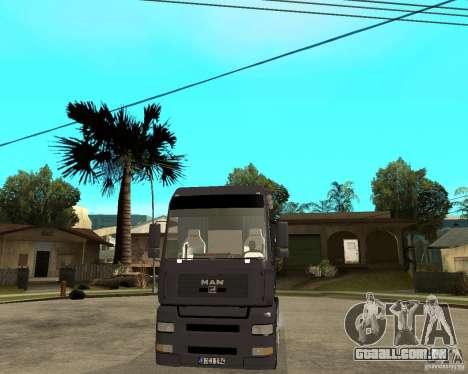 Man TGA para GTA San Andreas vista traseira