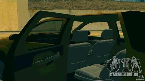 Chevrolet Avalanche 2011 para GTA San Andreas vista direita