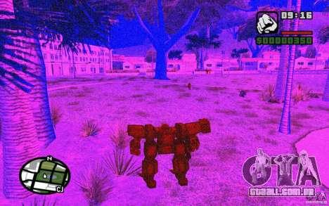 Exoesqueleto para GTA San Andreas sexta tela