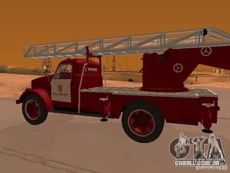 GAZ-51 ALG-17 para GTA San Andreas vista direita