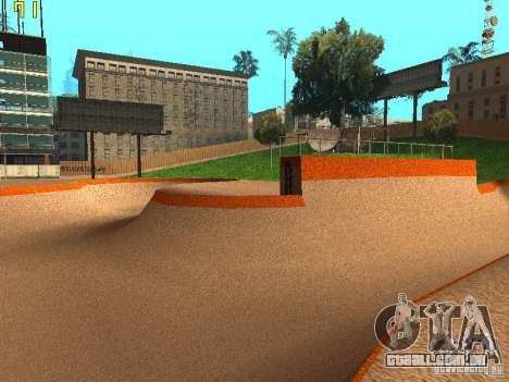 New SkatePark v2 para GTA San Andreas sexta tela