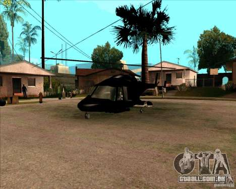 Airwolf para GTA San Andreas