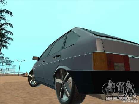Ajuste de luz VAZ 21093i para GTA San Andreas vista traseira