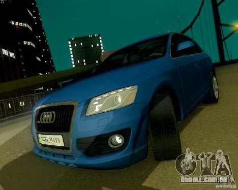 Audi Q5 para GTA San Andreas interior