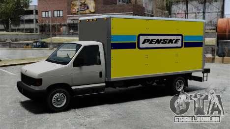 O novo anúncio para caminhão corcel para GTA 4 vista de volta