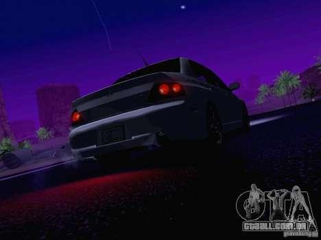 Mitsubishi Lancer Evolution VIII para o motor de GTA San Andreas