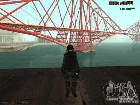 Sheriff Departament Skins Pack para GTA San Andreas sexta tela