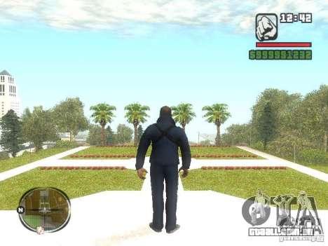 Viktor Zakhaev de COD MW 1 para GTA San Andreas segunda tela