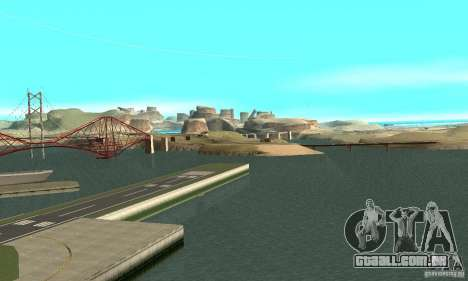 10x Increased View Distance para GTA San Andreas segunda tela
