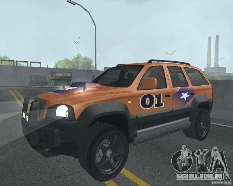 SUV de NFS para vista lateral GTA San Andreas