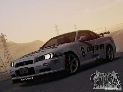 SA_NGGE ENBSeries v. 1.2 versão jogável para GTA San Andreas segunda tela