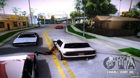 Os peões se agarram à auto para GTA San Andreas