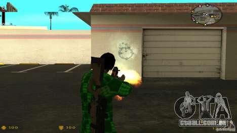 Cs 1.6 HUD v2 para GTA San Andreas terceira tela