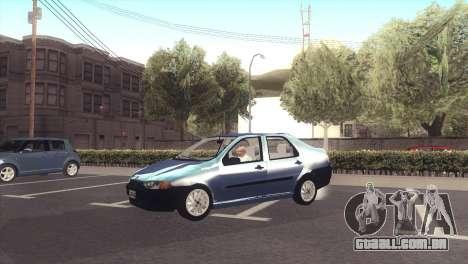 Fiat Siena 1998 para GTA San Andreas