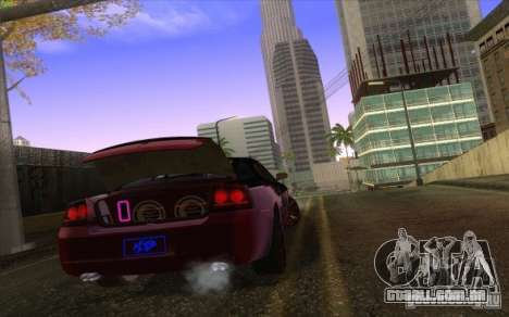 Dodge Charger SRT 8 para GTA San Andreas vista interior