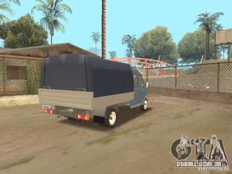 Agricultor de gaz gazela 33023 para GTA San Andreas vista direita