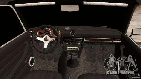 VAZ 2106 Tuning v 2.0 para GTA Vice City vista interior