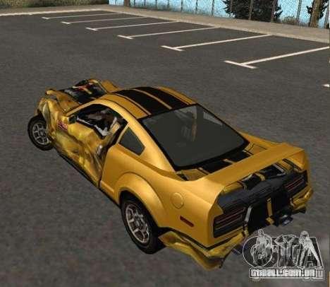 Road King from FlatOut 2 para GTA San Andreas vista direita