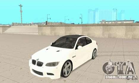 BMW M3 2008 Hamann v1.2 para GTA San Andreas esquerda vista