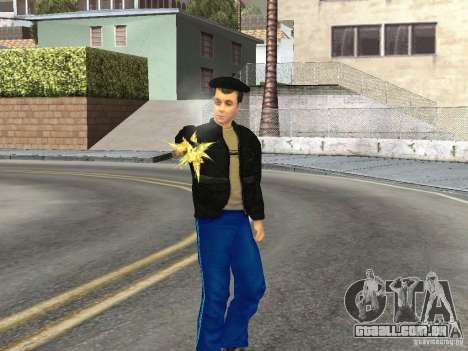 Gopnik peles para GTA San Andreas
