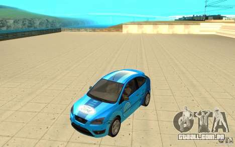 Ford Focus-Grip para GTA San Andreas vista interior