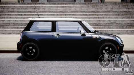 Mini Cooper S 2003 v1.2 para GTA 4 vista interior