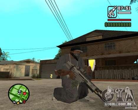 Aplicações de arco para GTA San Andreas segunda tela