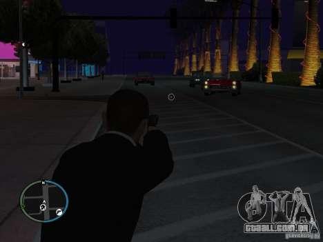 Próximo objectivo para GTA San Andreas segunda tela
