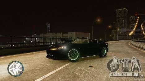 Green Neon Banshee para GTA 4 esquerda vista
