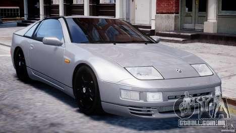 Nissan 300 ZX 1994 v1.0 para GTA 4 vista inferior