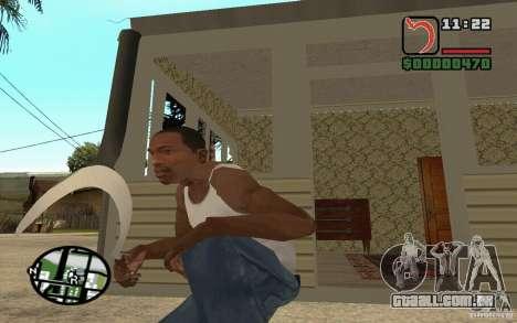 Foice e martelo para GTA San Andreas segunda tela