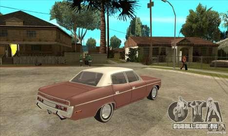 AMC Matador 1971 para GTA San Andreas vista direita