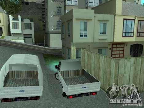 Ford Transit 2005 para GTA San Andreas vista direita