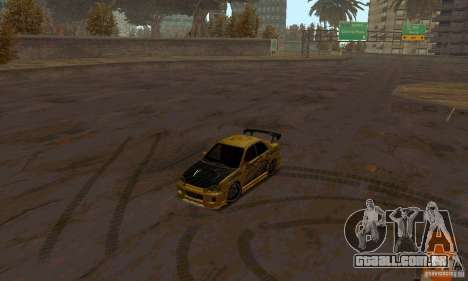 NFS Most Wanted - Paradise para GTA San Andreas décimo tela
