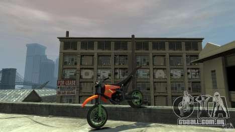 Stunt Supermotard Sanchez para GTA 4 vista lateral