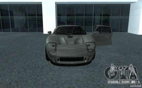 Ford GT 40 para GTA San Andreas traseira esquerda vista