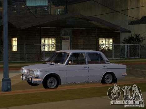 VAZ 2103 baixo clássico para GTA San Andreas vista interior