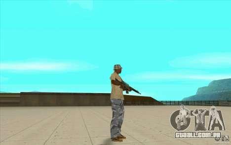 Calças adidas para GTA San Andreas sexta tela