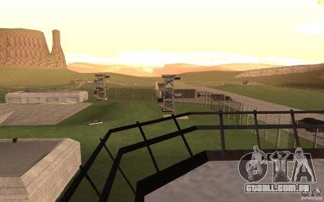 New desert para GTA San Andreas nono tela