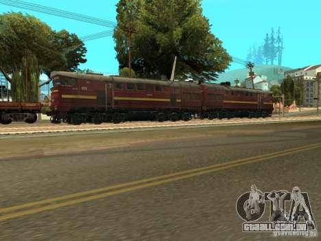 2te10u-0211 para GTA San Andreas vista direita