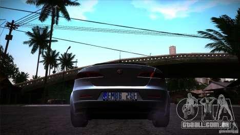 Alfa Romeo 159 Ti para GTA San Andreas vista direita
