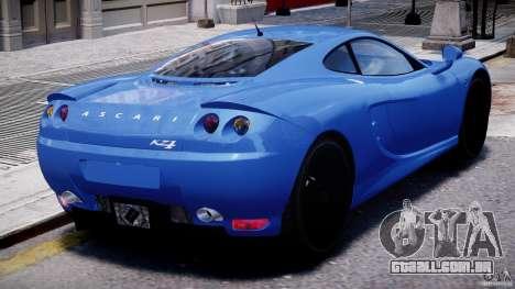 Ascari KZ-1 para GTA 4 interior